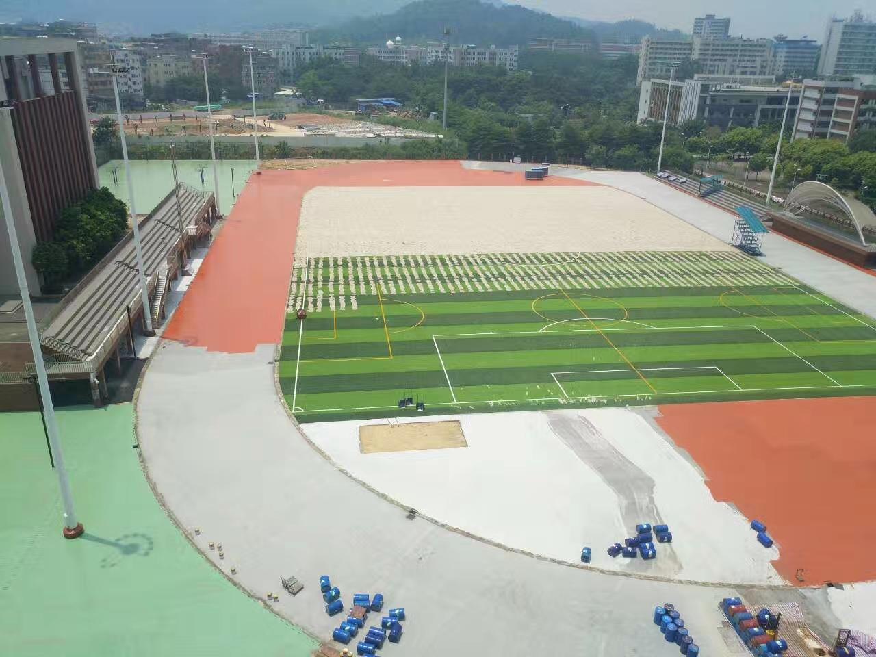 广州标zhun400米塑胶跑道建设