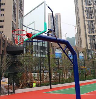 预埋式篮球架-固ding式篮球架