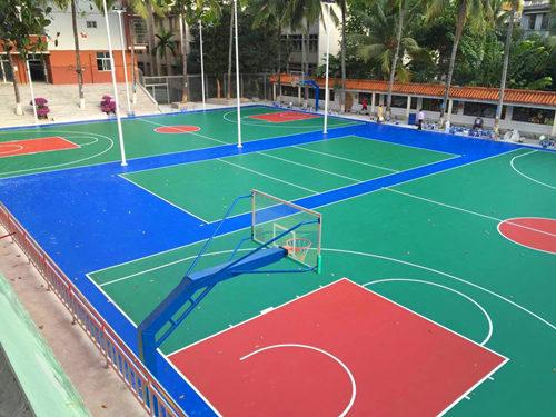 hai�xi诙�weisheng学校guiPU篮球场