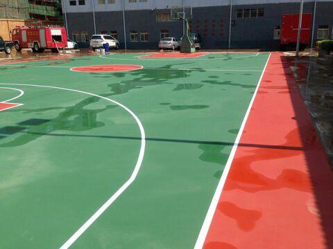 文山xiao防大队篮球场