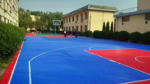 怀化车站悬fu地板篮球场