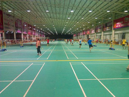 广州绿湖体育运动中心羽毛球场
