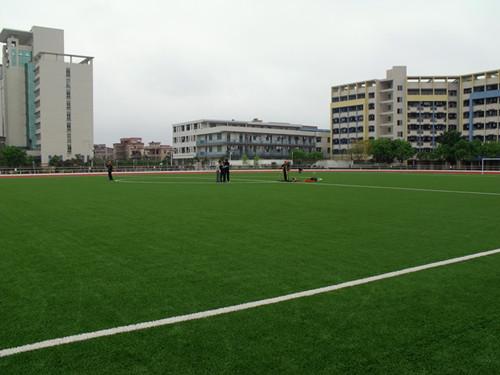 guang州市高级技工学校足球场