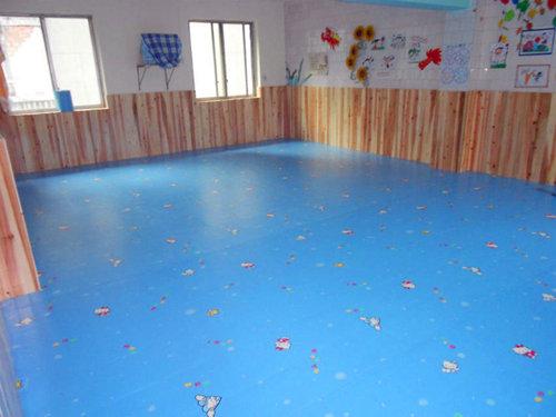 美思幼儿园huan保室内塑胶PVC地板
