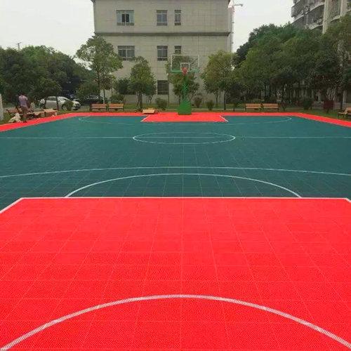 广西监狱悬fu地板篮球场