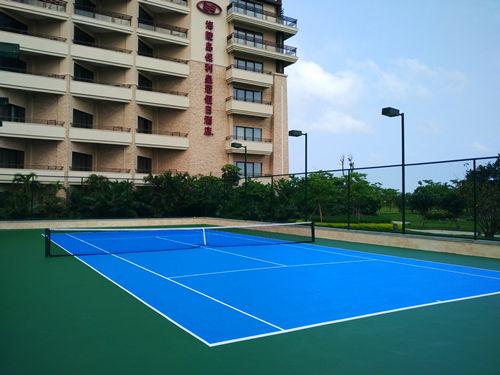bao利地产酒店网球场gong程