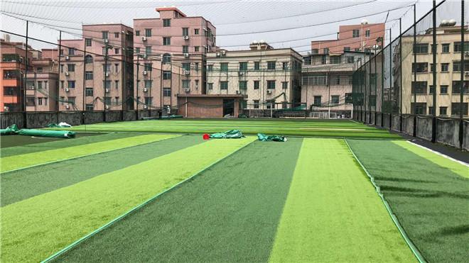 学校幼儿园免填充型ren造草足qiu场施工建设chang家